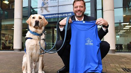 Matthew Palmer of Irwin Mitchell, and who lies in Caister, is taking part in the London Marathon, ra