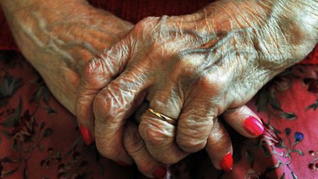 There are an estimated 14,000 people with living with dementia in Norfolk. Picture posed by model. P