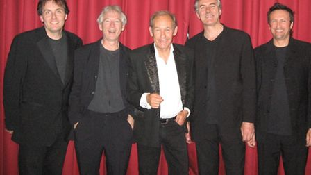 Mike d'Abo and his Mighty Quintet. Picture: Courtesy of Southwold Arts Festival