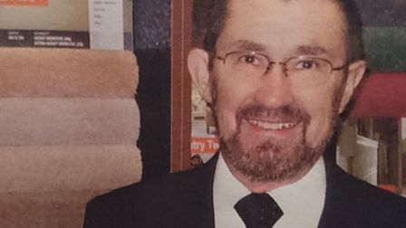 Terry Whittaker of Whittaker Carpets who has died at the age of 71. The family business will carry o