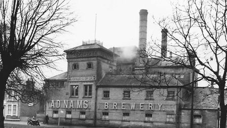 Places - S Adnams Brewery at Southwold. Dated ? Photograph C8317