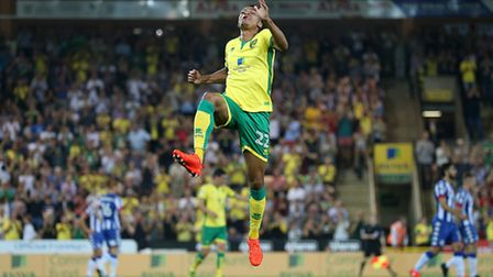 Jacob Murphy was on target in City's 2-1 win over Wigan at Carrow Road. Picture: FOCUS IMAGES