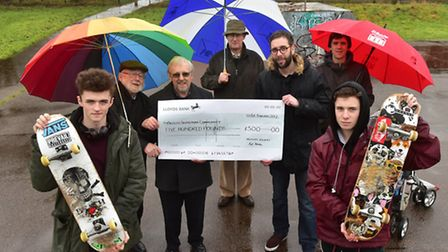 The Beccles Society has donated �500 towards the ongoing campaign to raise �150,000 to build a new s