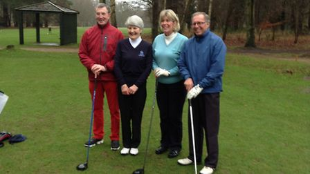 Thetford Golf Club captains, pictured on the course in 2016. Picture: SUBMITTED