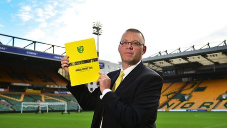 Steve Stone is once again Norwich City FC's interim chief executive. Picture: ANTONY KELLY