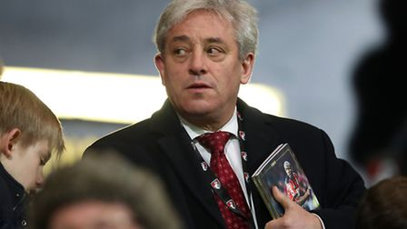 Speaker of the House of Commons John Bercow Andrew Matthews/PA Wire.
