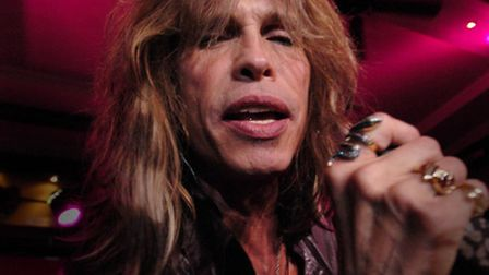 Steve Tyler of Aerosmith injured at a gig in the line of duty (Joel Ryan/PA Wire)