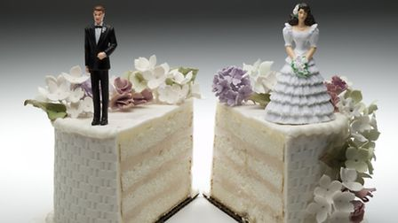 Divorce: No laughing matter - and no excuse for a party either. Picture: Jeffrey Hamilton/Thinkstock