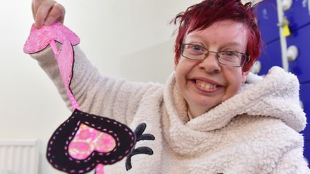 Waveney Enterprises is looking for more service users. One of the service users. PHOTO: Nick Butcher