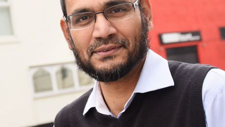 Sirajul Islam, secretary of the Mosque management committee at the Norwich Central Mosque, Rose Lane