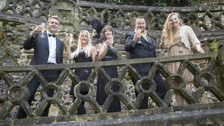 The 2017 Royal Norfolk Show masquerade ball is raising funds for children�s charity Break. Pictured