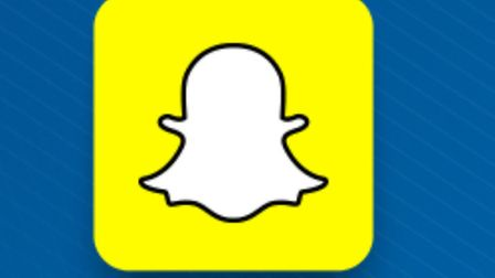 Undated file photo of the logo for the SnapChat App, as the owner of photo-sharing app is reportedly