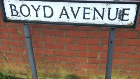 Boyd Avenue in Toftwood, where the body of a man in his 60s was discovered. Picture: Archant