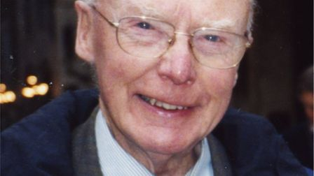 Former Loddon GP Charles Patrick Bennett who has died at the age of 99