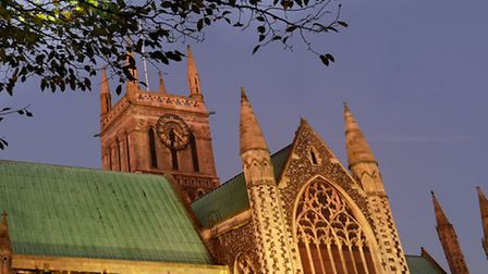 Library image of Great Yarmouth Minster Church. Picture: James Bass