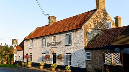 The King's Arms at Shouldham. Picture: Matthew Usher.