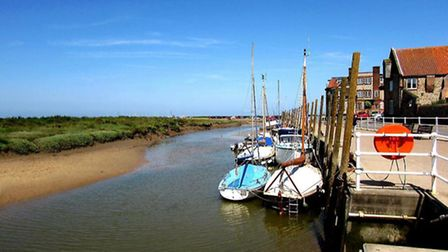 Beautiful Blakeney - part of the AONB. Picture: Sheila Denny