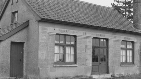 Places - B Education - Schools Burston strike school is covered with inscriptions listing those