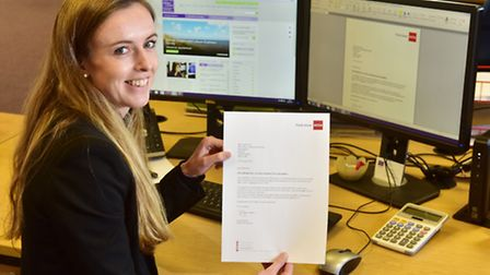 Larking Gowen accountant Lauren Day has come top out of a worldwide class of 5,000 in her profession