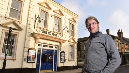 James Aggett is the new manager of Beccles Public Hall.PHOTO: Nick Butcher