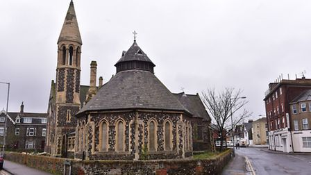 An exhibition of of old jumble is set to be suspended from the ceiling at St John's Church, Yarmouth