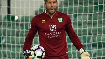 Over-age keeper Paul Jones was in fine form for Norwich City Under-23s against Everton. Picture: Jas