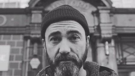 The Shins lead singer James Mercer, pictured in the band's new video for song Mildenhall. Picture: T