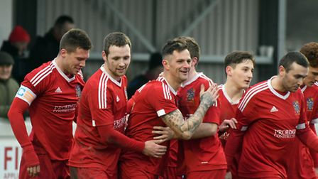 Wisbech Town enjoyed a routine 4-1 success over Leicester Nirvana.