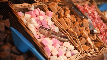 Nougat on sale at The Mart in King's Lynn. Picture: Ian Burt