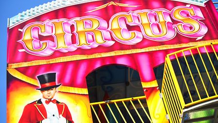 The Circus Circus Funhouse at the King's Lynn Mart. Picture: Ian Burt