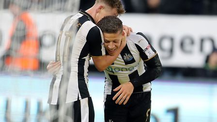 Dwight Gayle could return for Newcastle against Norwich this evening following a hamstring injury. P