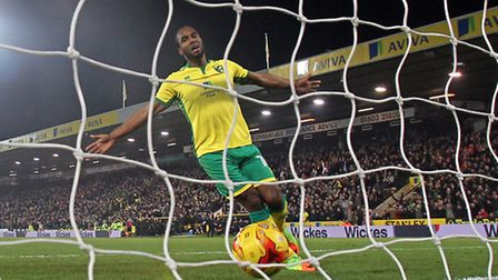 An alternative angle on Cameron Jerome's goal against Newcastle. Picture by Paul Chesterton/Focus I