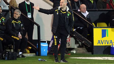 Manager Alex Neil was left frustrated on the sidelines. Picture by Paul Chesterton/Focus Images Ltd