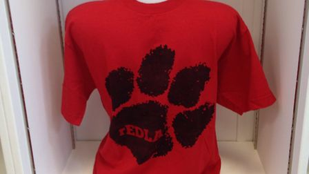 One of Ed Sheeran's T-shirts which will be sold at the new EACH shop in Halesworth. Picture: EACH.