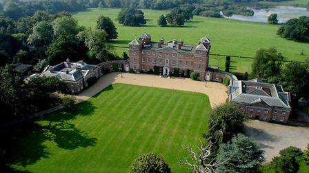 An aerial view of Kimberley Hall. Picture: ROBBIE BUXTON