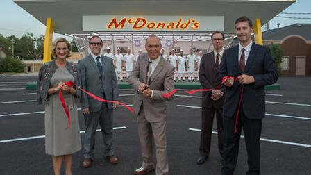 Michael Keaton as Ray Kroc in The Founder. Picture: StudioCanal/McFadden