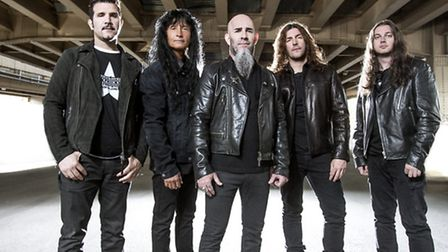 Thrash metal pioneers Anthrax will be playing their classic album Amoung The Living in full. Picture