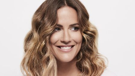 Caroline Flack is set to star in the musical Crazy for You. Photo: Nathan Pask.