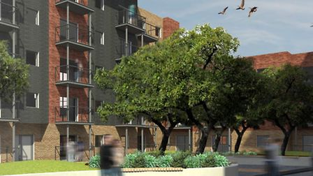 CGI images of the development at St Anne's Quarter. Picture: Orbit