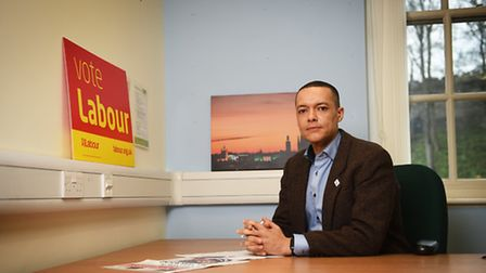 Norwich South MP Clive Lewis.Picture: ANTONY KELLY