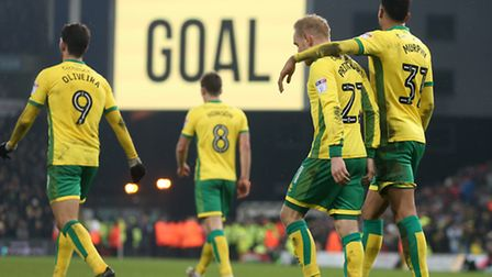 Alex Pritchard and Josh Murphy earned special praise from Alex Neil. Picture: Paul Chesterton/Focus