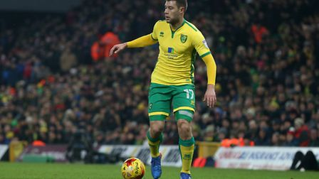 Yanic Wildschut of Norwich in action during the Sky Bet Championship match at Carrow Road, NorwichP