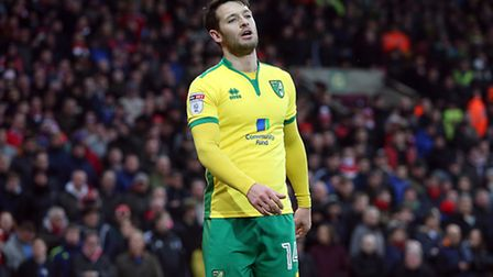 Wes Hoolahan of Norwich during the Sky Bet Championship match at Carrow Road, NorwichPicture by Pau