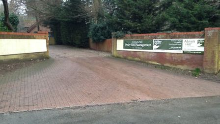 Ailwyn Hall Care Home, near Honingham, has been put in special measures. Picture by Nicholas Carding