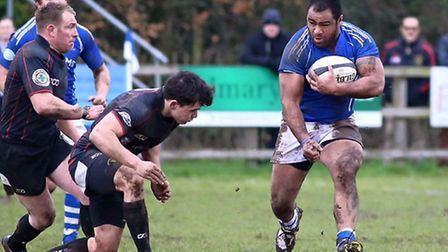 Diss, pictured in action earlier in the season, were too good for Epping Upper Clapton. Picture: Jo
