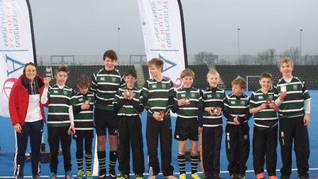 Langley Preparatory School at Taverham Hall's U13 team were crowned national champions at the Indepe