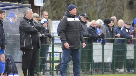 Damian Hilton will not be the manager in the home dug-out at Trafford Park for the rest of this seas