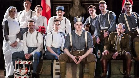 Award-winning theatre company Antic Disposition are bringing their production of Henry V to Norwich