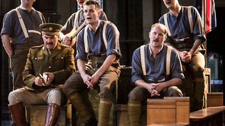 Antic Dispositions' Henry V is being performed by British and French actors. Picture: Scott Rylander
