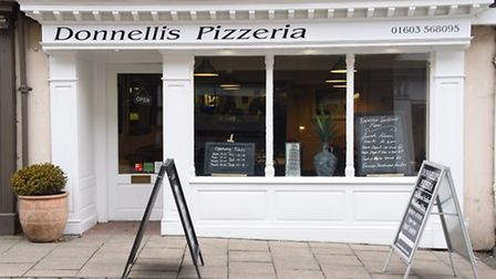 Donnellis Pizzeria in Timberhill. Picture: DENISE BRADLEY